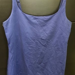 NEW YORK & CO- Medium Royal Blue support tank top